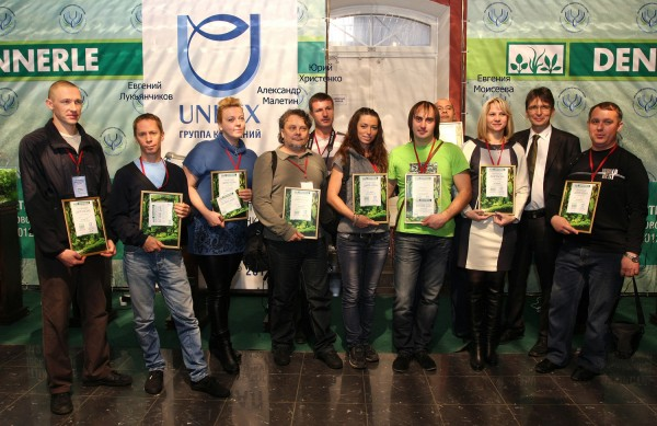 финал конкурса аквариумного дизайна DENNERLE Nano Cube® 2013 в Москве - финалисты конкурса в Москве 2013.jpg