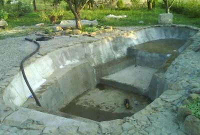Пруд, просто пруд. - DSC00088 бетон 1.jpg