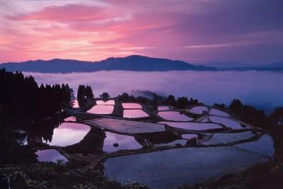 Вечер.... Япония.... Ниигата. - прекрасное фото.jpg